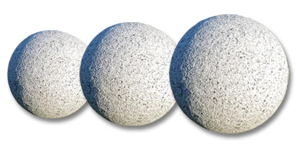 Pierre naturelle d coration du jardin panneaux acier for Decoration jardin boule pierre