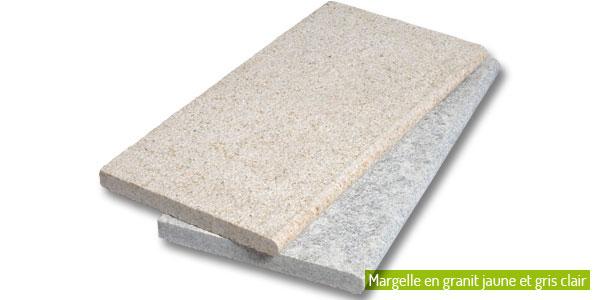 Les margelles de piscine dalles pav s opus parement for Piscine en granit